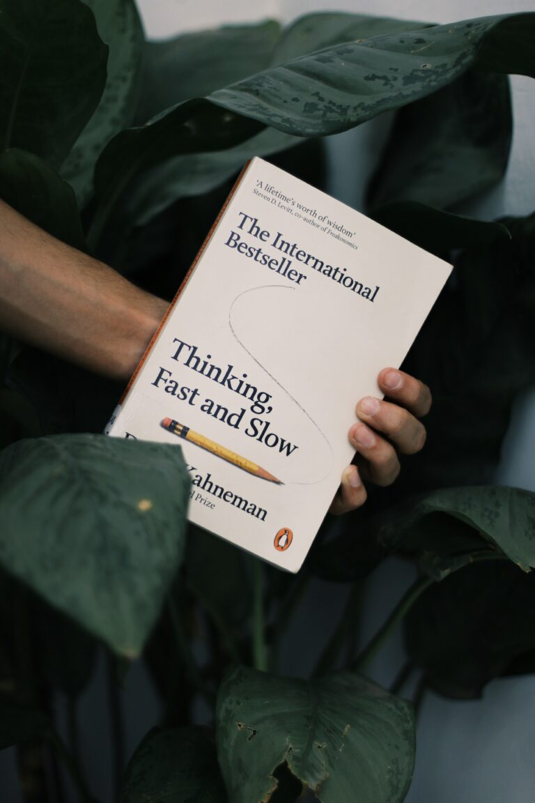 Buch schnelles Denken langsames Denken