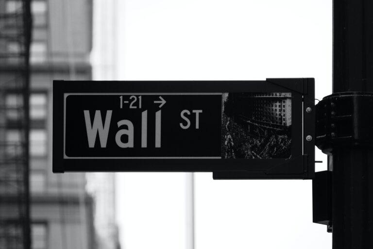 Wall Street Schild